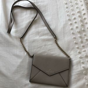 Kate Spade Envelope Clutch With Strap | Nude